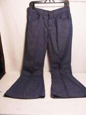 "LEVIS 656 Bell Bottom Jeans Men's Vtg Black Big E 656 Sta-Prest Denim 32x32"""