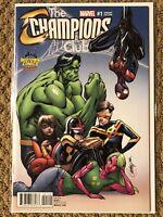 Champions #1 - J. Scott Campbell Variant!