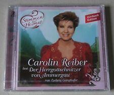 CD Hörbuch : Carolin Reiber liest 'Der Herrgottschnitzer von Ammergau'