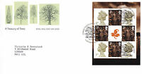 18 SEPTEMBER 2000 A TREASURY OF TREES PANE RM FIRST DAY COVER LLANGERNYW SHS