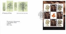 18 SETTEMBRE 2000 un tesoro di alberi riquadro RM PRIMO GIORNO DI COPERTURA llangernyw SHS