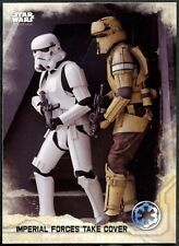 Imperial Forces Take Cover#27 Star Wars Rogue One Series 1 Topps 2016 Card C1737