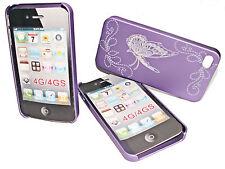 Design 2 Back Cover Case Hülle für Apple iPhone 4 - 4S  + Displayschutzfolie
