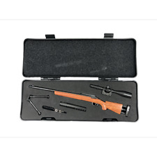 Miniature M24 Sniper Rifle Mini Toy Gun   1/5 Scale Replica Non-firing Toy