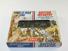 Vintage Airfix HO/OO Figures WWI BRITISH INFANTRY Complete 48 Pcs in Type 2 Box