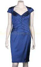 TADASHI jurk US8/EU36 blauw NIEUW+LABELS ap:€250
