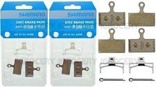 2 Pairs Shimano G03Ti Metal Disc Brake Pad Pair & Spring w/Split Pin NIB
