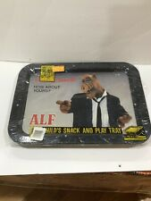 ALF TV SHOW VINTAGE SEALED IN ORIGINAL PACKAGE SNACK LUNCH KID TRAY RARE