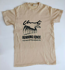 Christo. T-Shirt from Running Fence project, California, 1976.