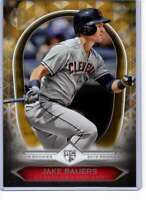 Jake Bauers 2019 Topps Tribute Rookies 5x7 Gold #19R-6 /10 Indians