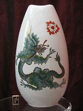 "XXL Rosenthal Porzellan Vase "" Grüner Ming Drache "" / green ming dragon  60 cm"