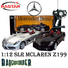SL MODEL CAR DIECAST MERCEDES BENZ SLR MCLAREN Z199 1:12 LICENSED REMOTE CONTROL