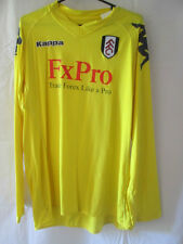Fulham 2010-2011 Fútbol Portero camisa tamaño Grande / 11095