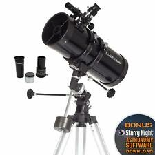 Beginners Telescope  Compact and Portable Manual German Equatorial Telescope NEW