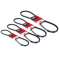 Gates Fan Drive Belt Fits Nissan Micra (2003-2010) 1.2 1.4 9VX
