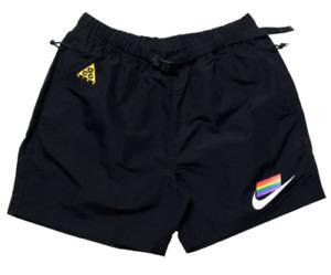 Nike ACG Betrue Woven Mens Shorts Black Size M Casual Sportswear Bottoms
