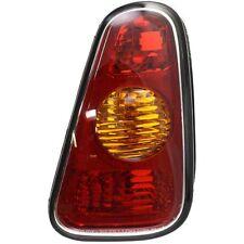 Tail Light For 2002-2006 Mini Cooper RH Amber & Red Lens
