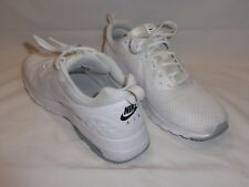 White NIKE AIR Max Motion Low Top Sneaker Tennis Shoes Sz. 11 #833260-110
