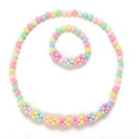 Baby Mädchen Halsketten Armband Prinzessin Kinder Schmuck Mädchen Schmuck AB WZ