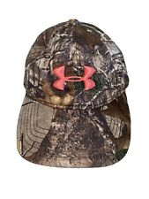 Under Armour Realtree Xtra Camo Womens SnapBack Hat One SIze Pink