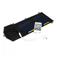 7W High efficiency outdoor Fold solar charger bag solarFor Phone/MP3/4 5V device