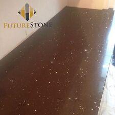 Brown mirror fleck | Quartz Kitchen Worktop | Stone Kitchen Worktop | Sample