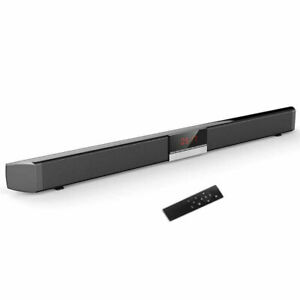 SOUNDBAR CON 4 ALTOPARLANTI SUONO SPEAKER BLUETOOTH PER PC TV USB TV