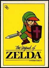 """The Legend Of Zelda"" Rygar #48 1990 Topps Ireland Sticker (C909)"