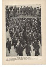 1914 Nizam or Regular Troops Lithograph