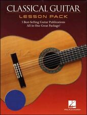 Classical Guitar Lesson Pack TAB & Music Book/DVD Method Tutor SAME DAY DISPATCH