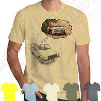 Dreaming of a 6r4 Austin Mg Mini Metro T-shirt Personalised plate option +7col