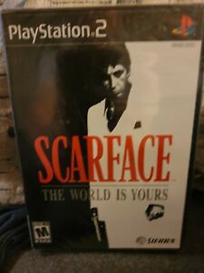 Scarface: The World is Yours (Sony PlayStation 2, 2006) PS2 Brand NEW - SEALED!
