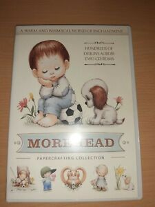 Morehead Double CD Rom Paper Craft Collection Crafters Companion People Animals