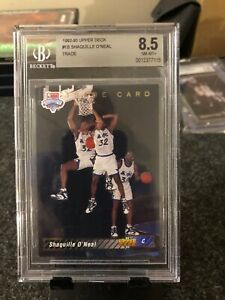 1992-93 Upper Deck - Shaquille O'Neal Trade #1B Rookie / Graded BGS 8.5