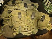 US Military Surplus USGI ALICE LC-2 3-MAG-MM16/MM4 Magazine / Mag Ammo Pouch
