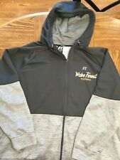 RUSSELL ATHLETIC WAKE FOREST FOOTBALL FULL ZIP HOODED SWEATSHIRT 3XL