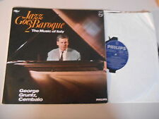 LP jazz George grugnisce-Jazz goes Baroque 2: Music of Italy (10) canzone PHILIPS R