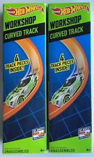 Hot Wheels Track Curve Lot of 2 BLEMISHED PACKAGING