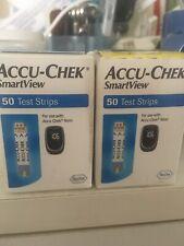 Accu-Chek Smartview Test Strips - 100 Count exp 1/31/2021