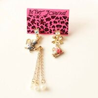 New Betsey Johnson Drop Dangle Earrings Gift Fashion Women Party Holiday Jewelry