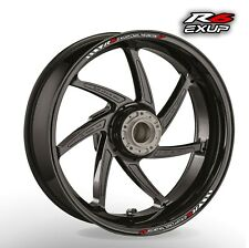 YAMAHA YZF R6 Exup V wheel rim stickers decals - choice of 20 colours