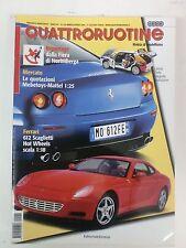 QUATTRORUOTINE - RIVISTA AUTOMODELLI N° 244 MARZO APRILE 2004