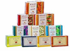 Lot of 10 - Khadi Herbal Ayurvedic Handcrafted Natural Beauty Soaps - 125g Each