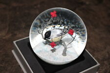 Cool Snow Globes New In Box Small Bird On Tree Branch Snow Dome Designed Vermont