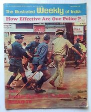 The Illustrated Weekly of India 26th Nov 1978 How Effective Are Our Police ?