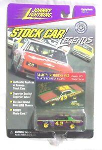 JCA Johnny Lightning -  1998 Legends - 1973 Dodge Charger - Purple #42 Robbins