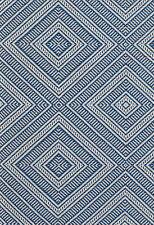 Schumacher Outdoor Diamond Fabric- Tortola/Marine - By The Yard BTY MSRP $310/yd