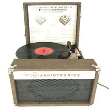 Vintage Audiotronics 320T Classroom Tutorette Turntable Record Player Needs Tlc