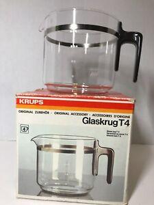 KRUPS Glaskrug T4 Glass Coffee Carafe