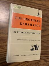 THE BROTHERS KARAMAZOV, FYODOR DOSTOYEVSKY, 1950 Rebound Paperback